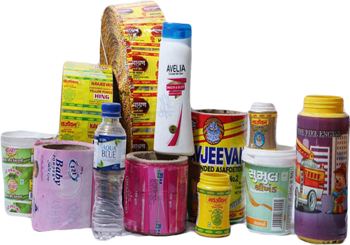 PVC shrinkable film packaging different products with different materials of shrinkable film